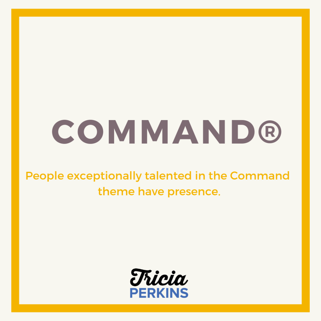 Gallup Command Theme Card