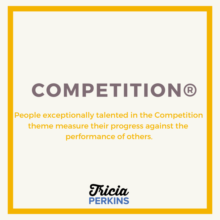 Gallup Competition Theme Card