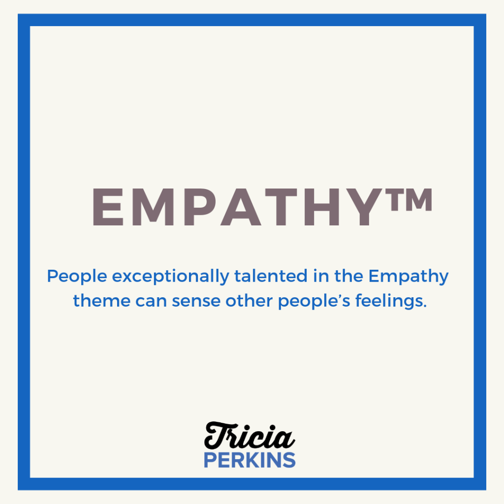 Gallup Empathy Theme Card