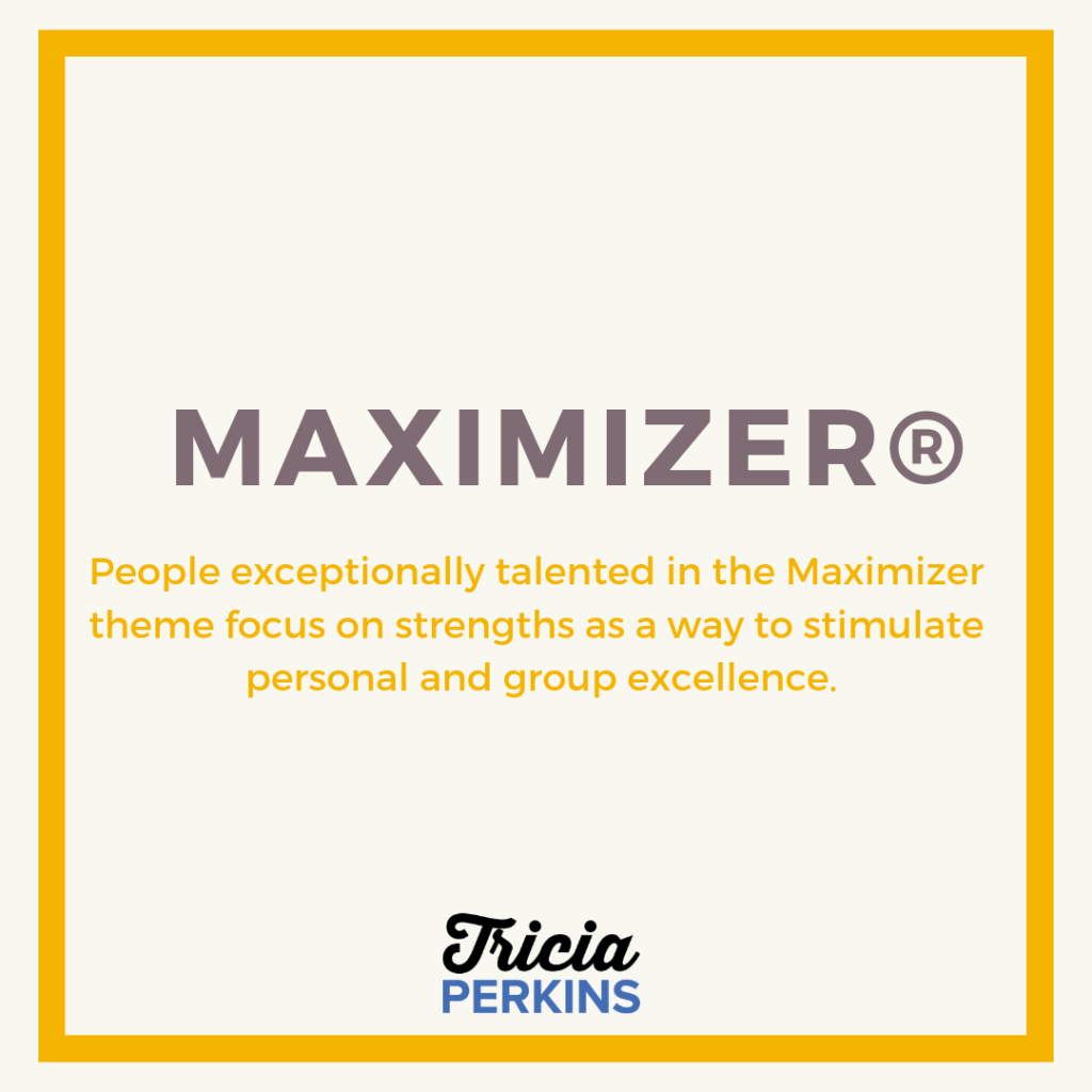 Maximizer Maximizer Theme Card