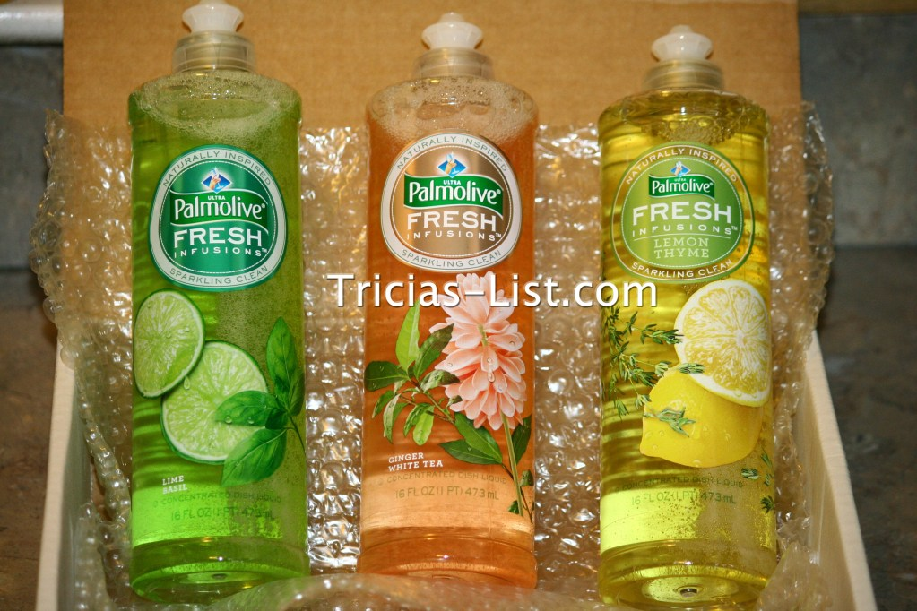Vox Box Review -Palmolive Fresh Infusions