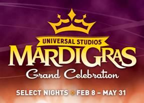 Universal Orlando Resort Is Celebrating Mardi Gras 2014 !