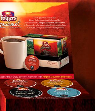 Folgers K-Cup Samples !