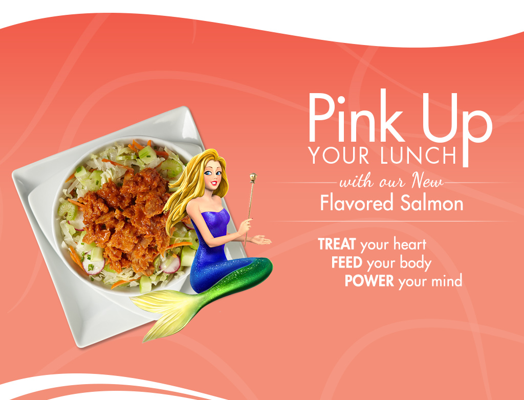 Free Chicken Of The Sea Salmon Pack !