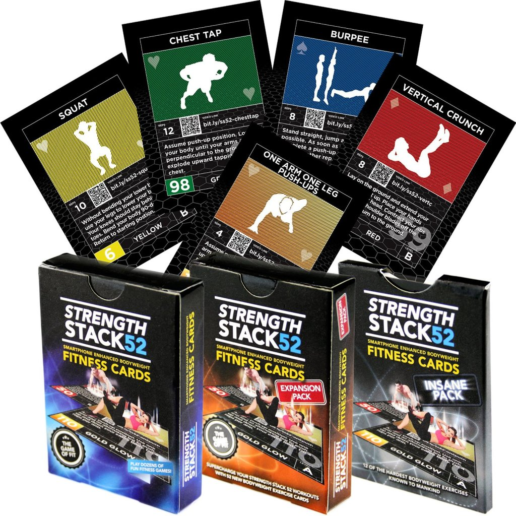 Fitness Cards You Work Out With ? YES !!Strength Stack 52