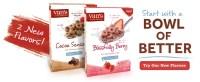 Van's Cereals – Not Just For Breakfast !