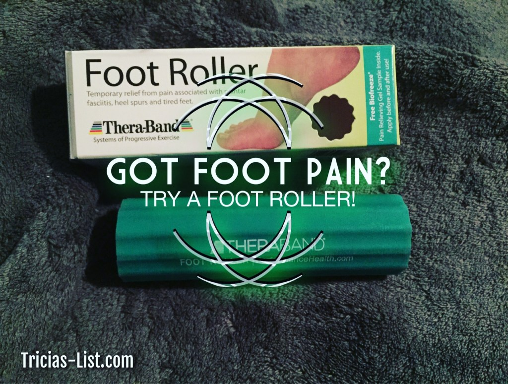 Foot Roller From Pro2Medical TheraBand – Tired Feet No More!!
