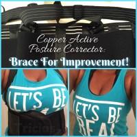 Copper Active Posture Corrector -Brace For Improvement!
