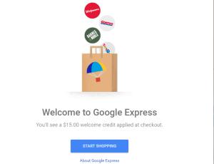 google express steps