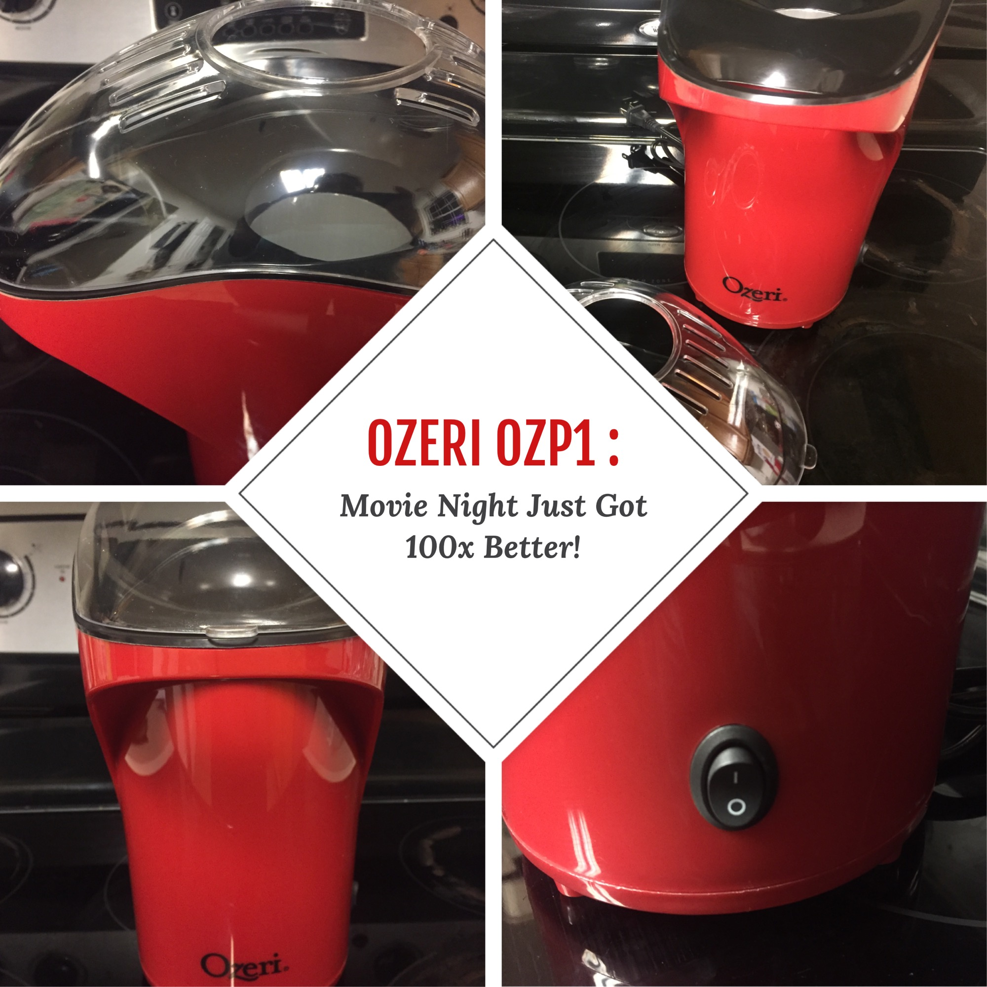 It's Movie Night … Where's the popcorn? It's here with Ozeri !