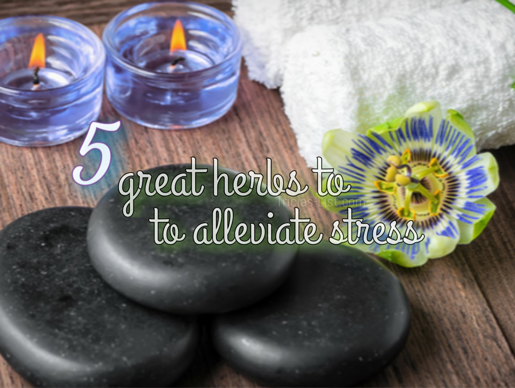 5 Great Herbs To Help Reduce Or Relieve Stress