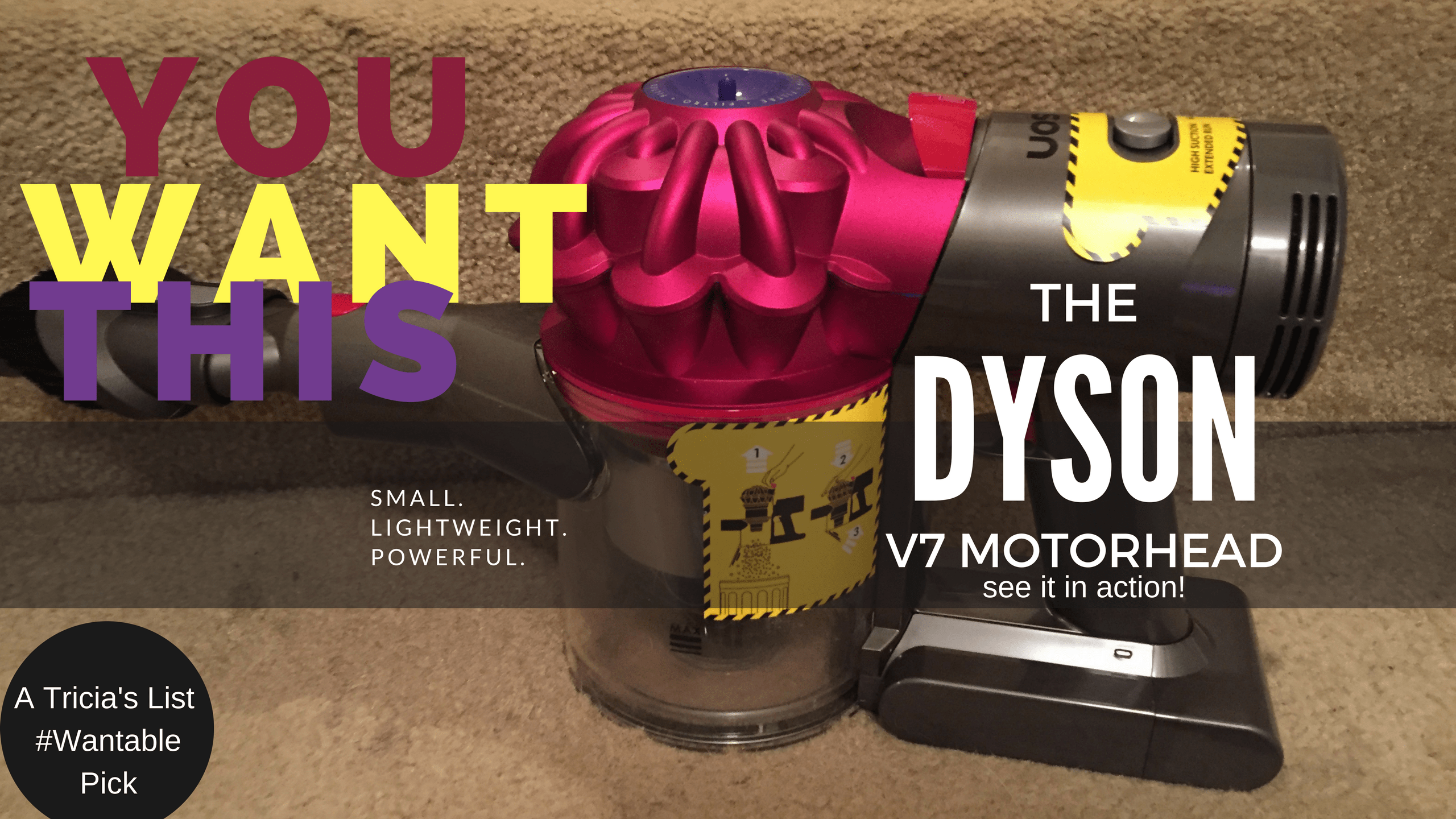 What Is The Dyson V7 Motorhead & WHY You May Want One