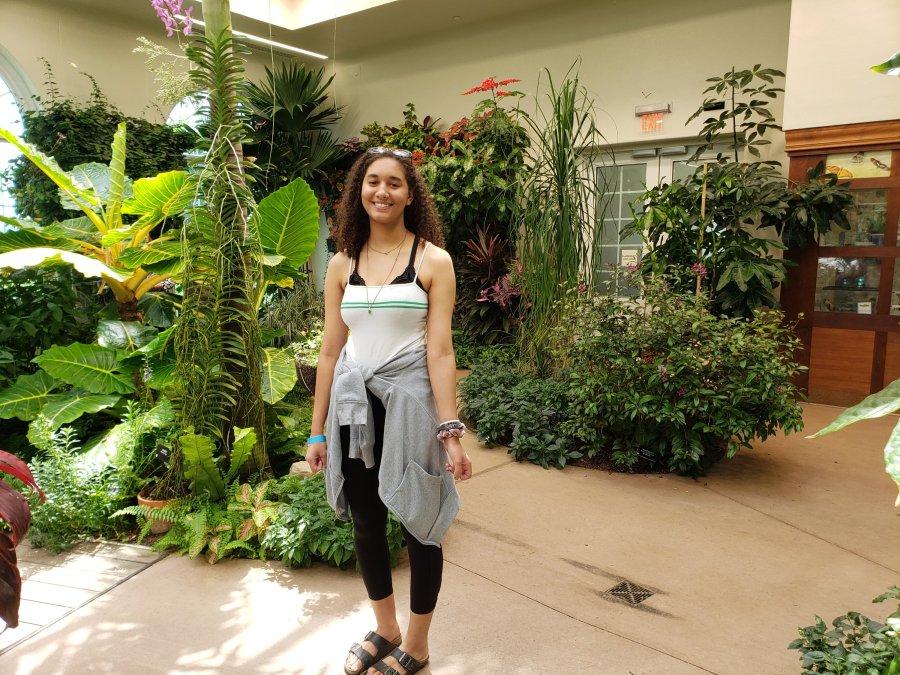 Hershey Gardens atrium