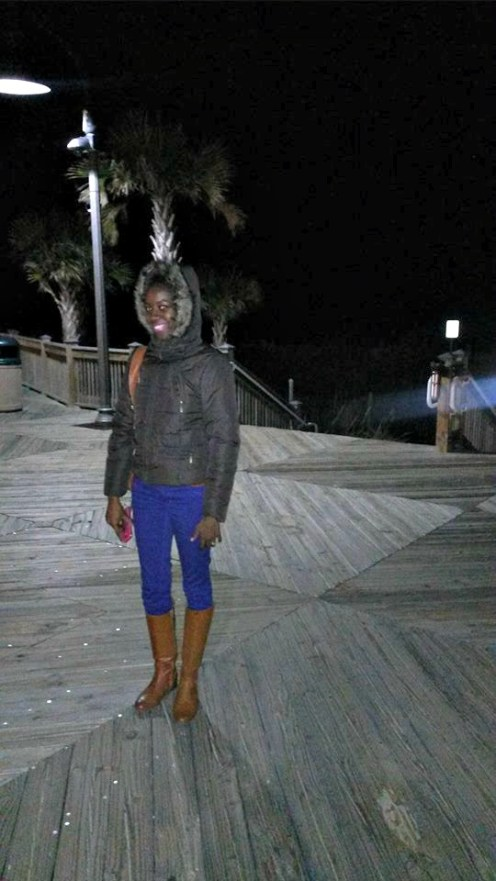 So cold in Myrtle Beach, SC