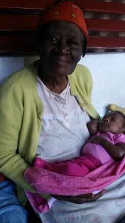 Niya and her great-grandmother, Miss Eulalee