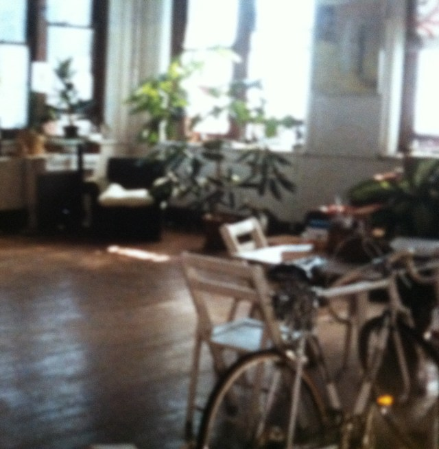 My Cincinnati studio with bike.