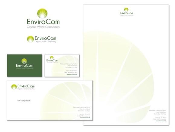 EnviroCom Stationery Suite, Organic Waste Company, Sligo