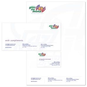 logo and stationery design Belfast