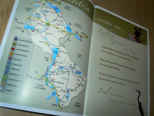 Self promotion Brochure inside spread