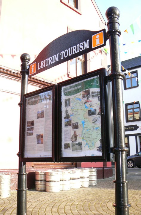 Leitrim Tourism information displays