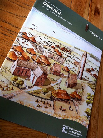 Devenish Island Education work book. Key Stage 2