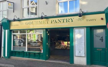 Gourmet Pantry Signage