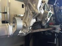 Brake Pedal Relocation Installed
