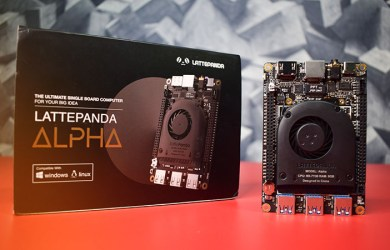 Lattepanda Alpha - the Powerful Single Board Computer with intel CPU