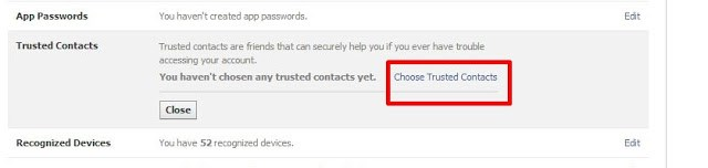 "Did U Added "" Trusted Contacts "" To Your Facebook Account ? ?"