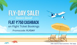 (Paytm Fly-day sale)Paytm-Flight tickets offer