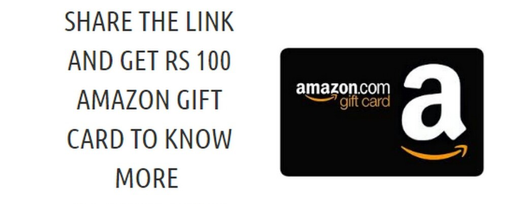 RENTKUR AMAZON OFFER : SHARE YOUR UNIQUE LINK AND GET RS 100 AMAZON GIFT VOUCHER
