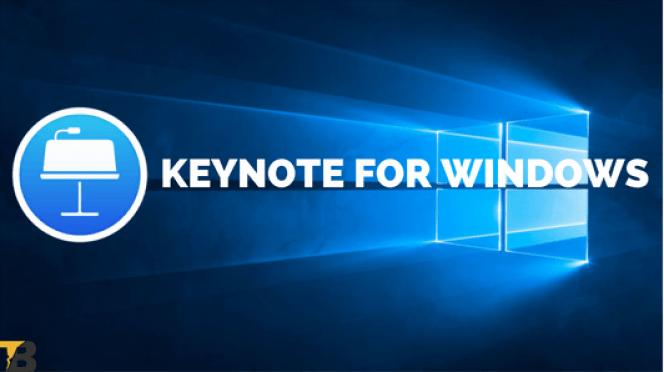 keynote for windows