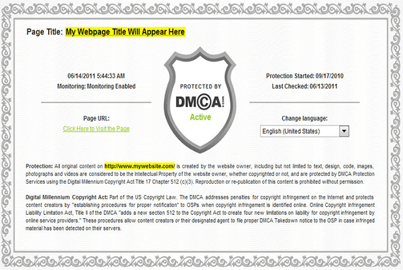 Dmca: How To Add DMCA Badge In Your Site To Get Free Backlink