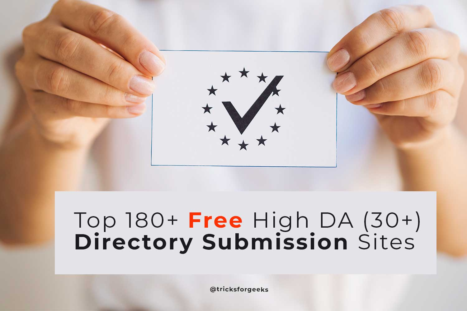 Free High DA Directory Submission Sites