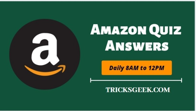 Amazon Quiz Answers Daily