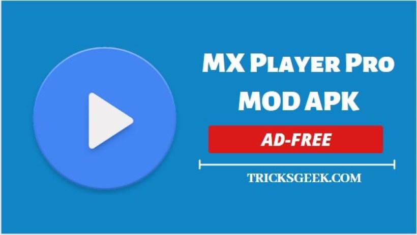 Download MX player Apk Mod