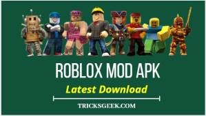 Roblox Mod Apk 2020