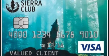sierra club credit card