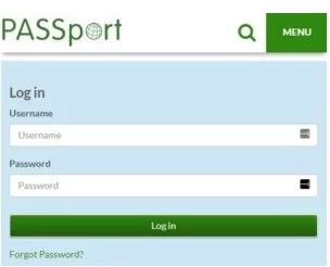 publix passport password reset