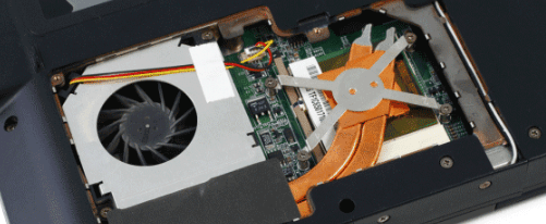 Cleaning fan to fix CPU overheating