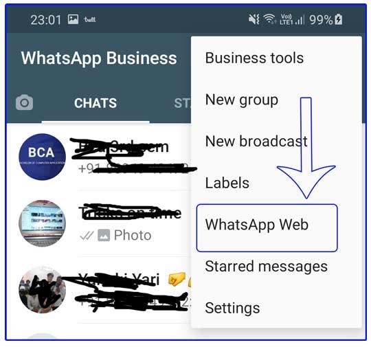 whatsapp pop up window