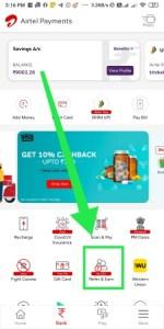 Airtel Refer Earn Offer
