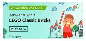 Amazon Childrens Day Quiz Answers