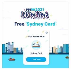 Free Sydney Card