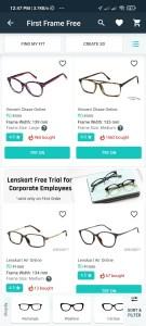 Lenskart Free Frame