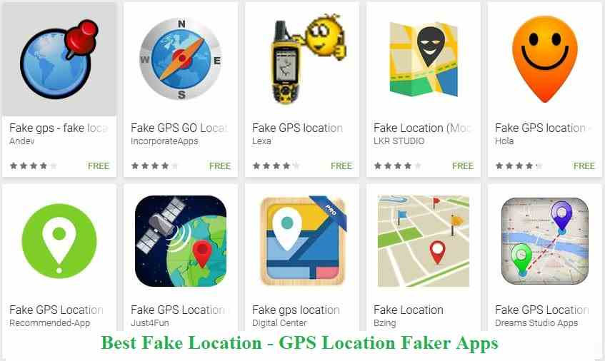 10 Best Fake Location Apps For Android Gps Location Faker App