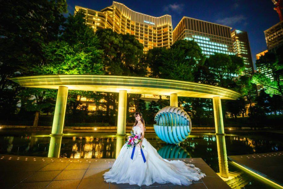 パレスホテル花嫁前撮り