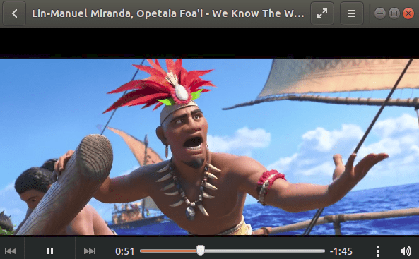 How To Play Videos In Ubuntu Default Media Player
