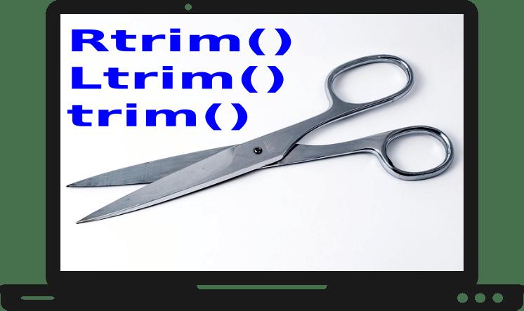 String Trim Functions in C