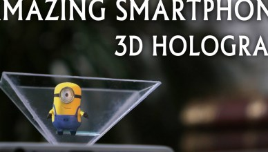 3D hologram at home